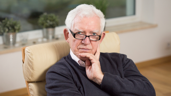 Pensioner thinks having a job once means he should get everything free