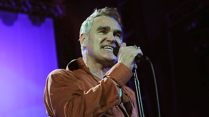 How much more of a twat can Morrissey be?