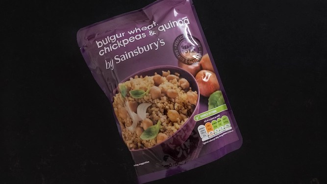 Bag of quinoa in man's cupboard outlasts three girlfriends