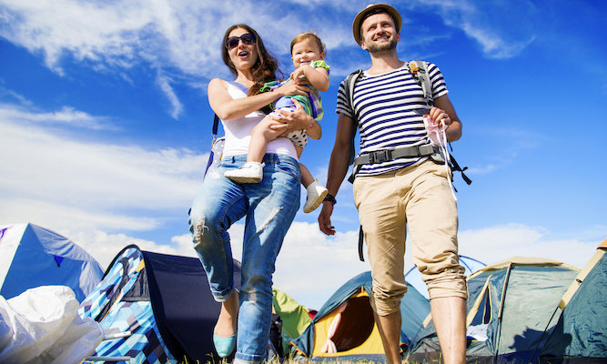 How to accept you're a 'family festival' person now