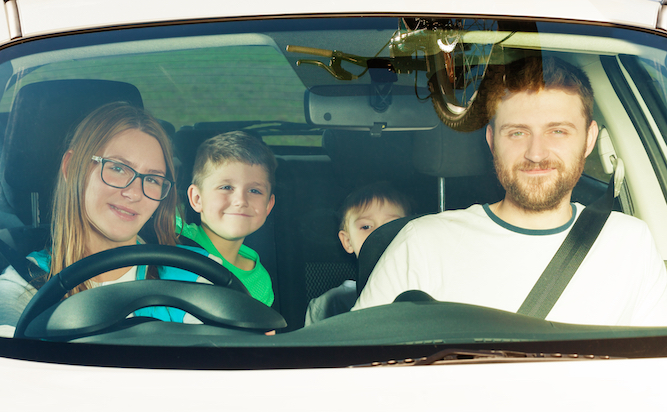 How to handle a family car journey without jumping out the f*cking window