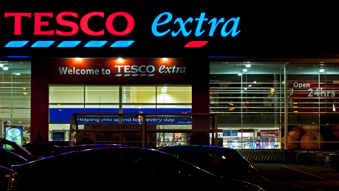 Late night trip to Tesco still oddly thrilling