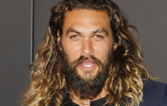 Could Jason Momoa sort out Brexit? Probably not but just look how handsome he is