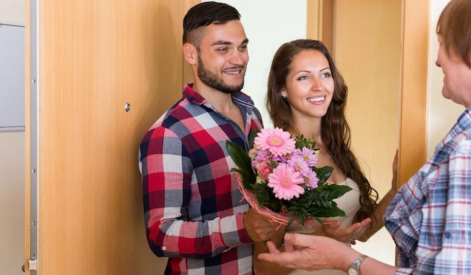 Man begins gruelling training programme to meet girlfriend's parents