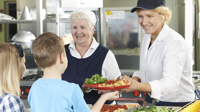 Mum's life ruined after she forgets to order school dinners