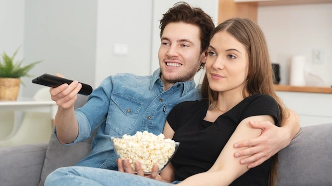 'I understand the f**king plot of the f**king film' woman gently reminds husband