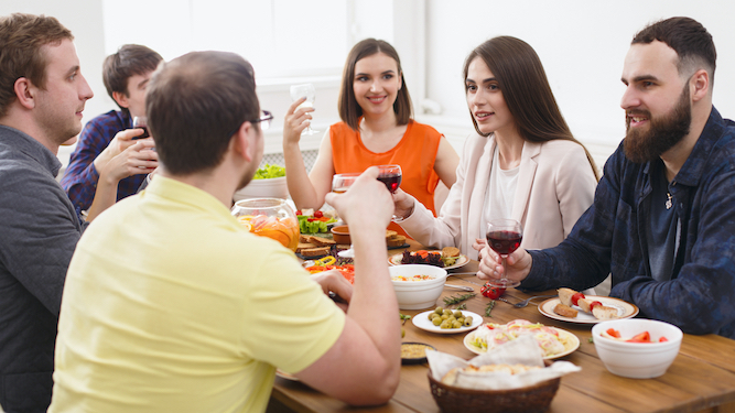 How to start having dreadful middle class dinner parties again