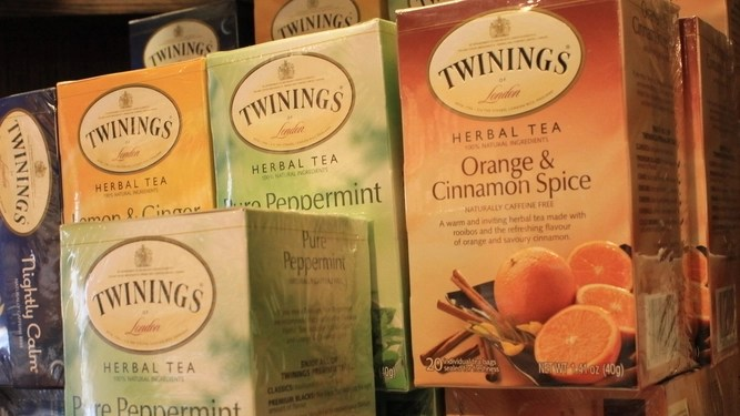 Girlfriend's cupboard space now 90 per cent flavoured teas