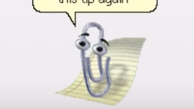 Bill Gates's wife leaving him for Clippy