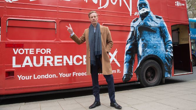 Laurence Fox the twat London deserves, rest of Britain agrees