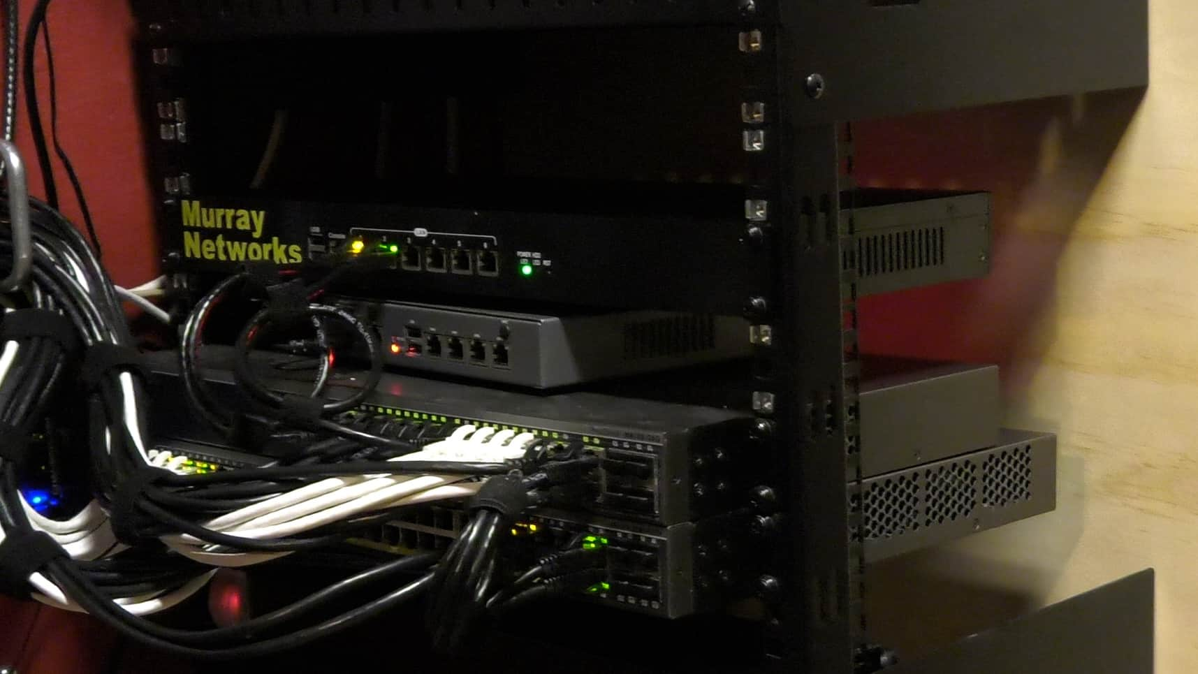 the best home network rack the geek pub