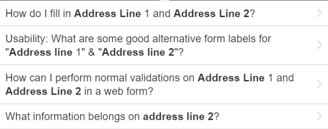 How To Resolve Address Line 2 And