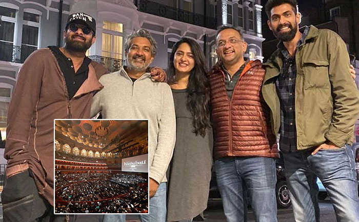 Prabhas, Rana, Anushka receive standing ovation at Royal Albert Hall