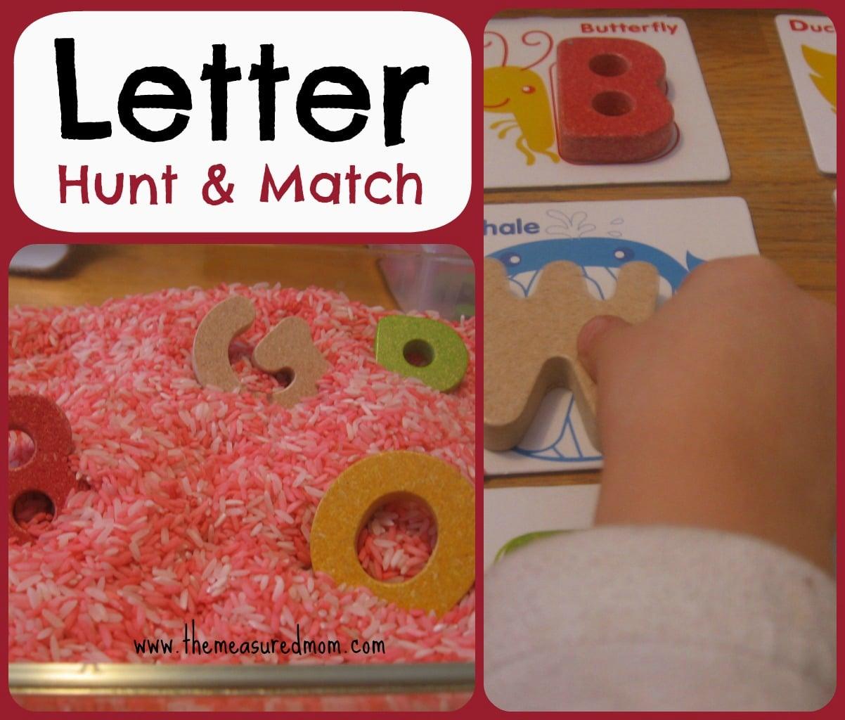Letter Hunt Amp Match A Whole Alphabet Activity For