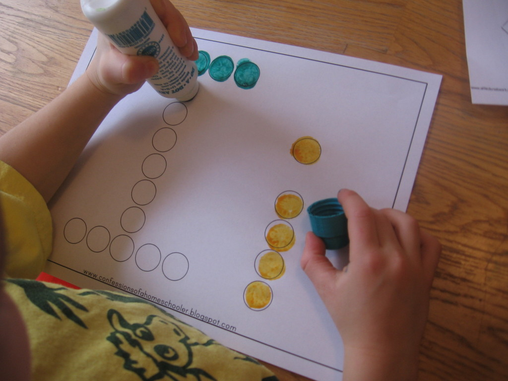 Preschool Fine Motor Practice Ways To Make The Letter I