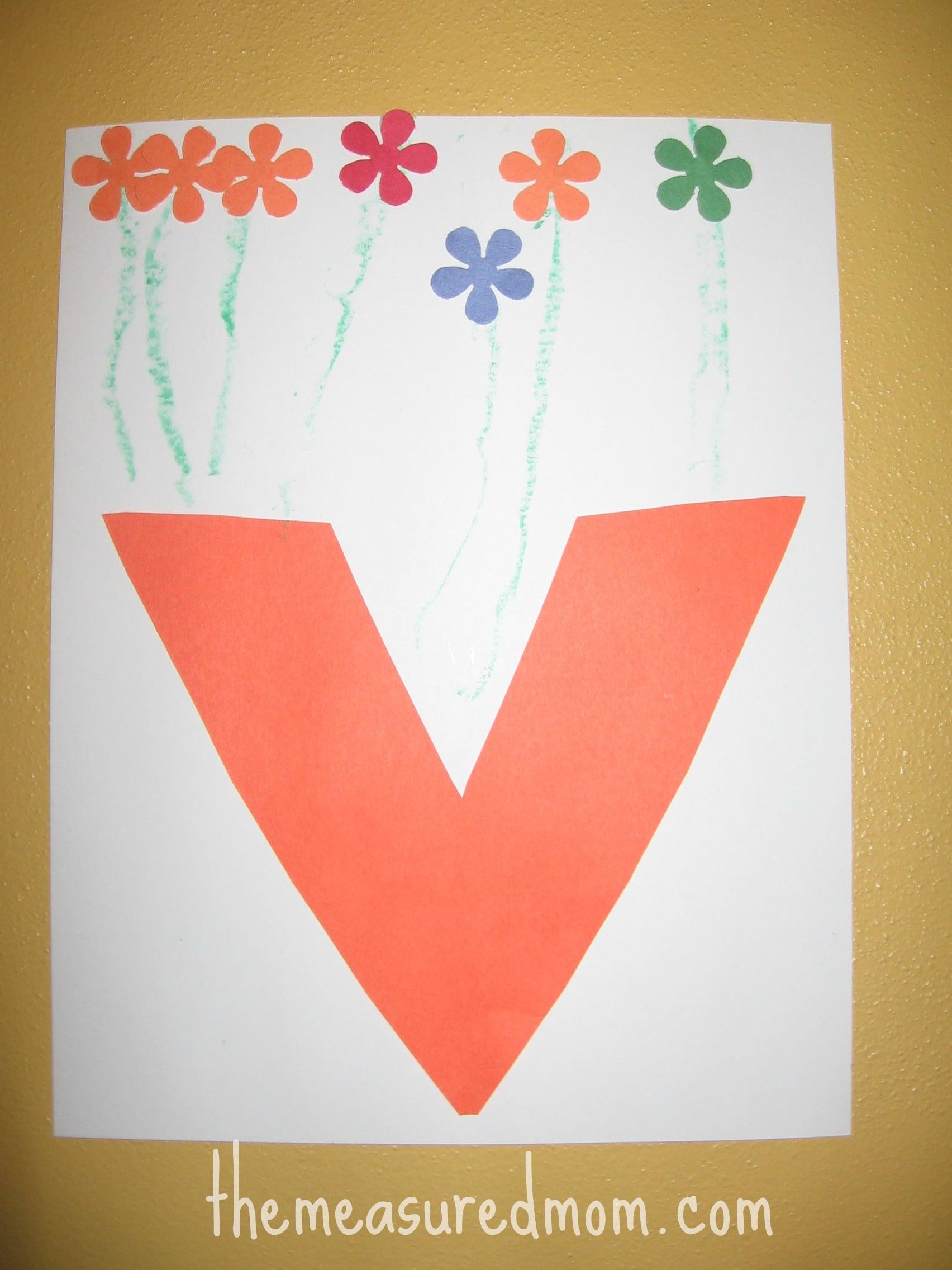 8 Crafts For Letter V