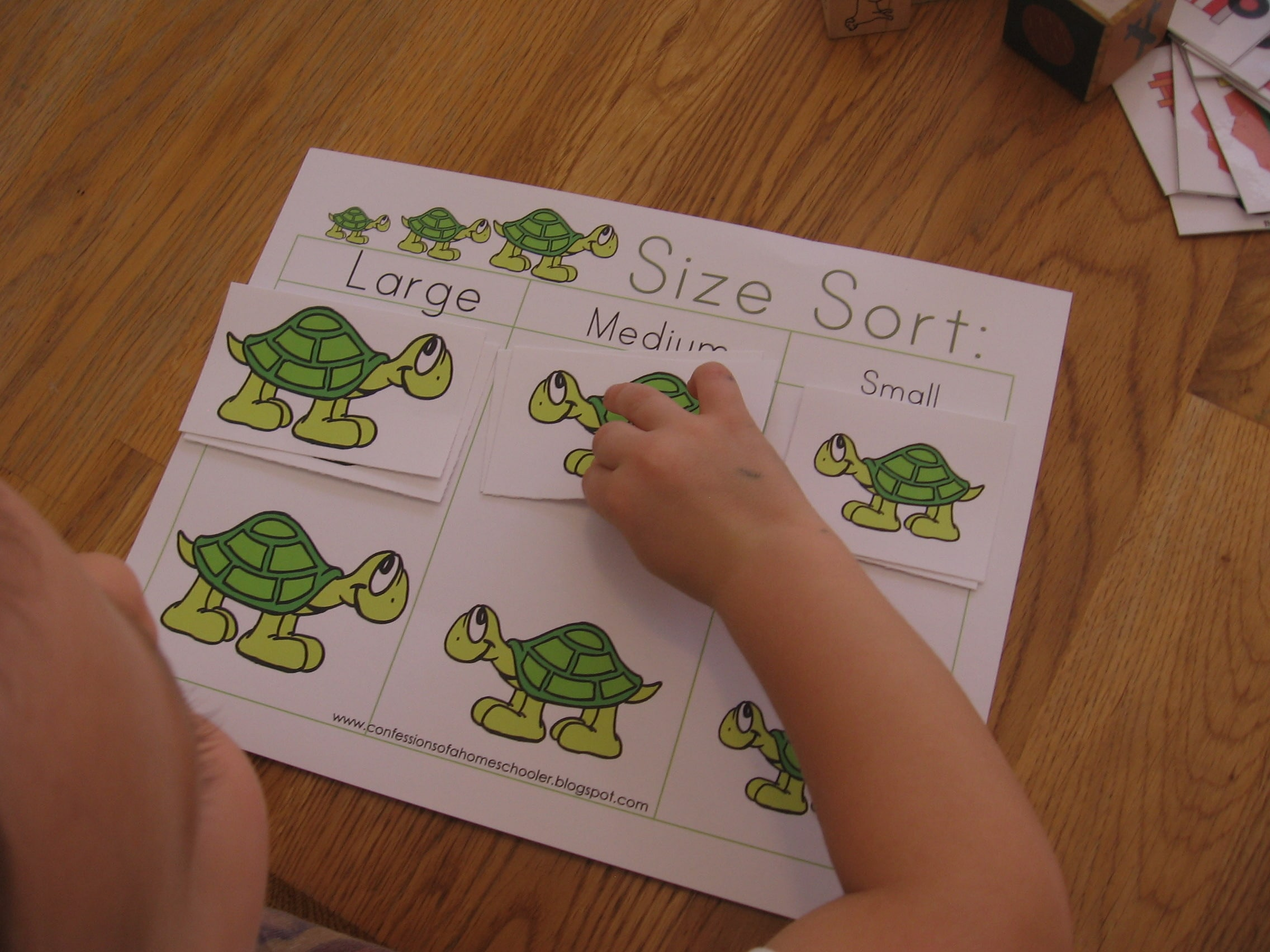 10 Preschool Math Activities The Letter T