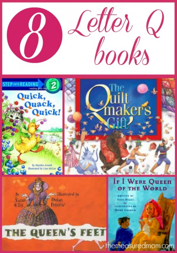 Letter Q Books For Preschoolers The
