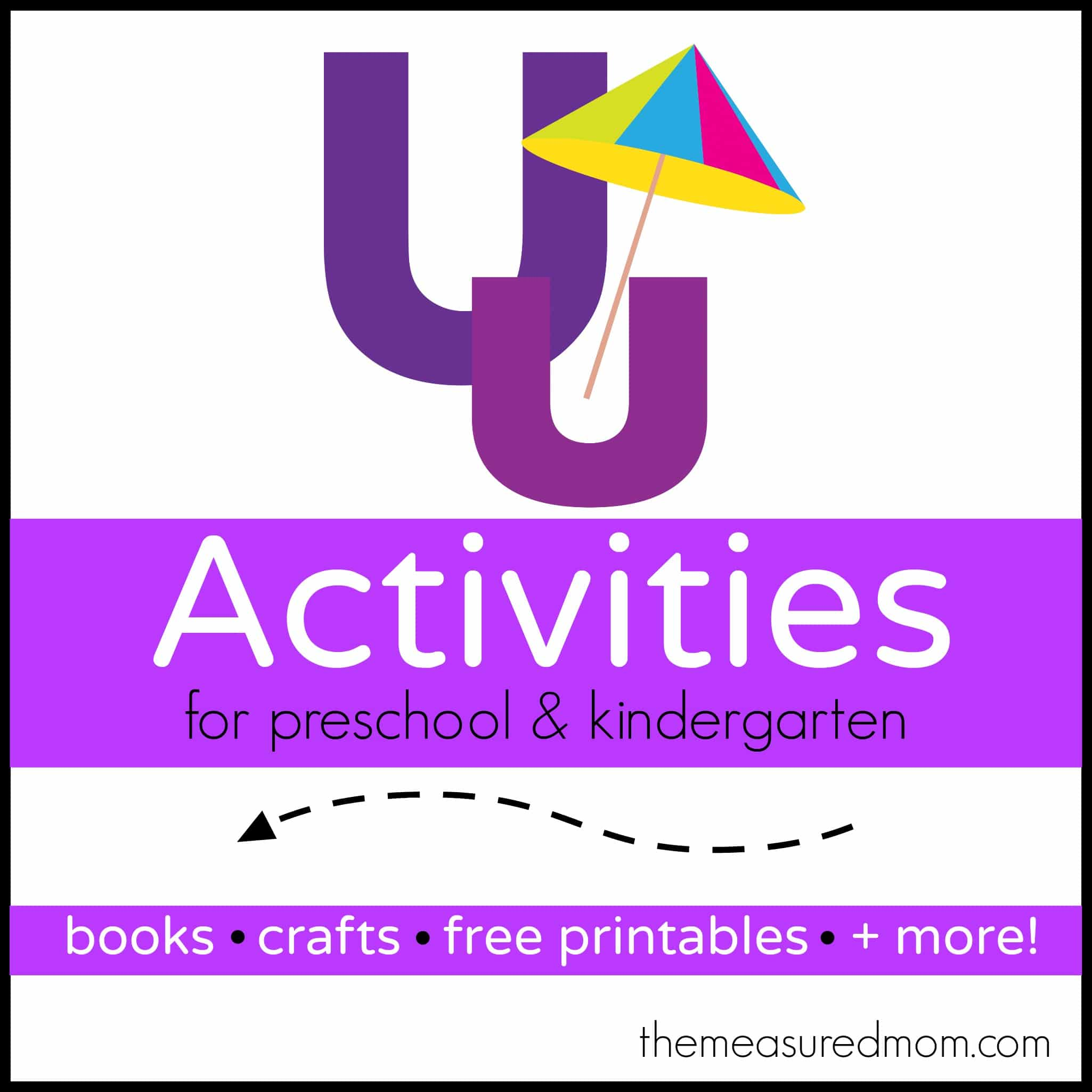 Letter U Activities