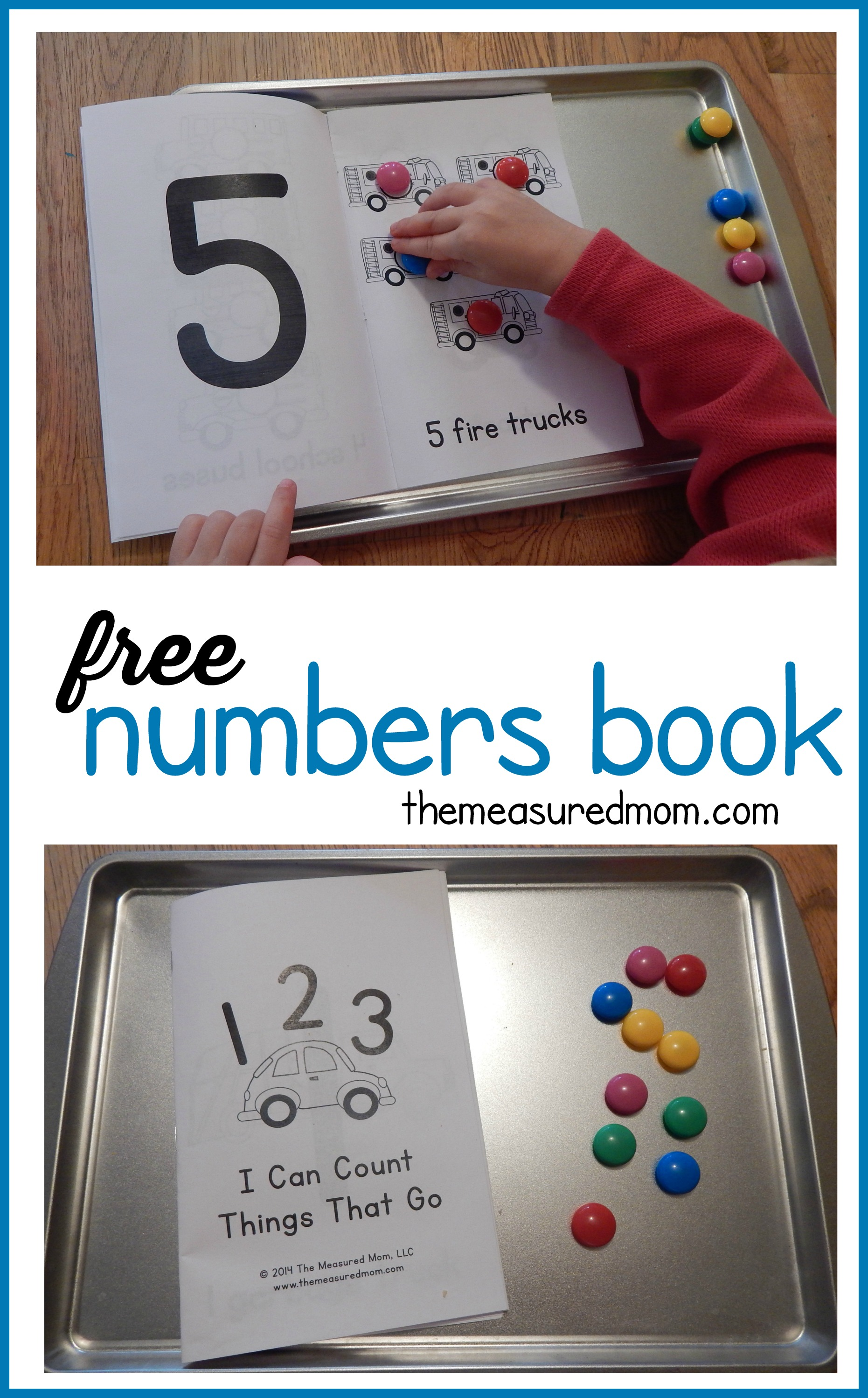 Free Numbers Book For Kids Ages 2 5