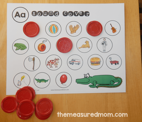 26 free beginning sounds worksheets   The Measured Mom 26 free beginning sounds worksheets