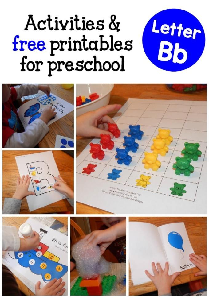 Letter Activities For 3 Year Olds Save Template