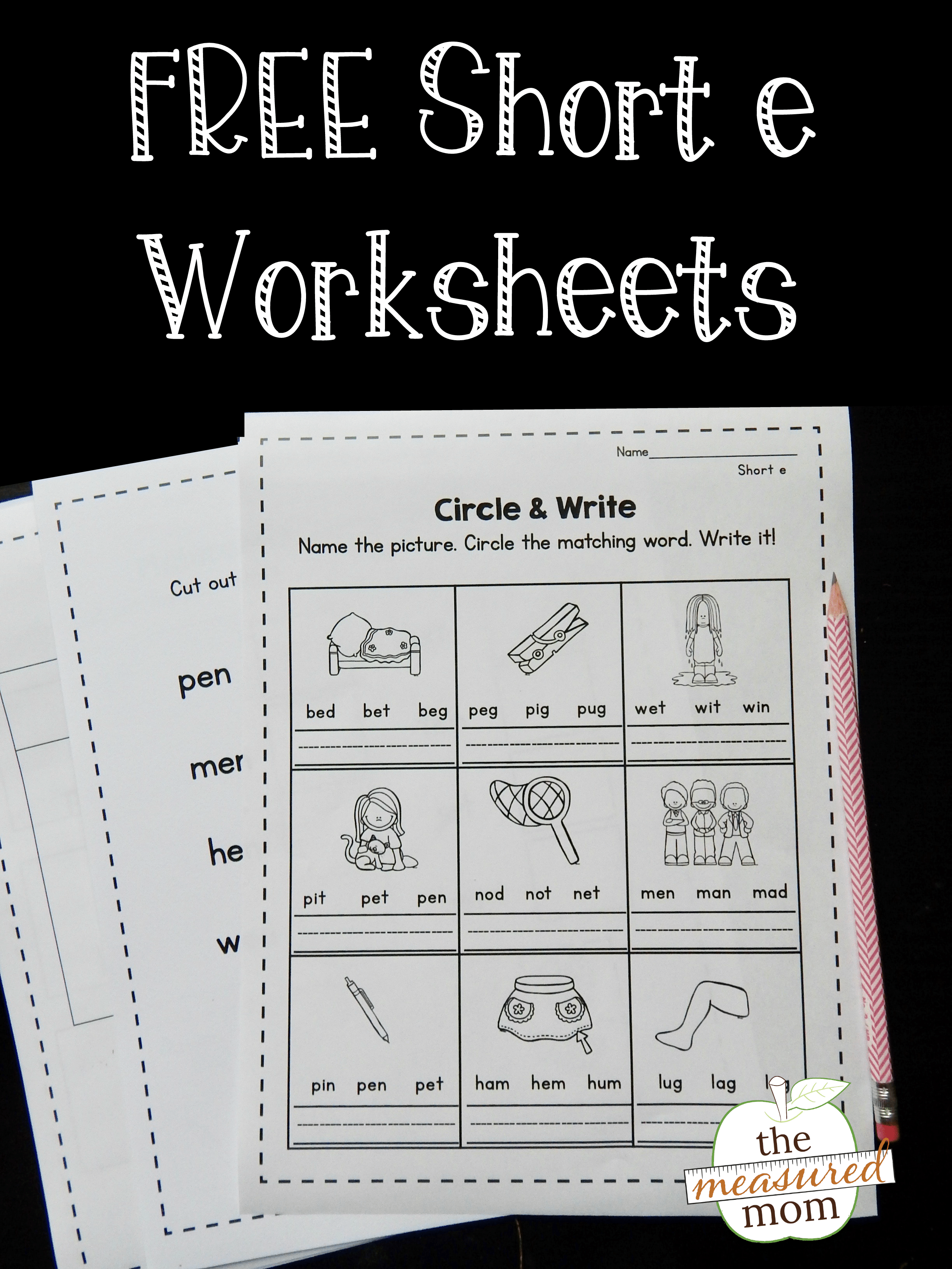Kindergarten Cut And Paste Number Worksheets 1 20