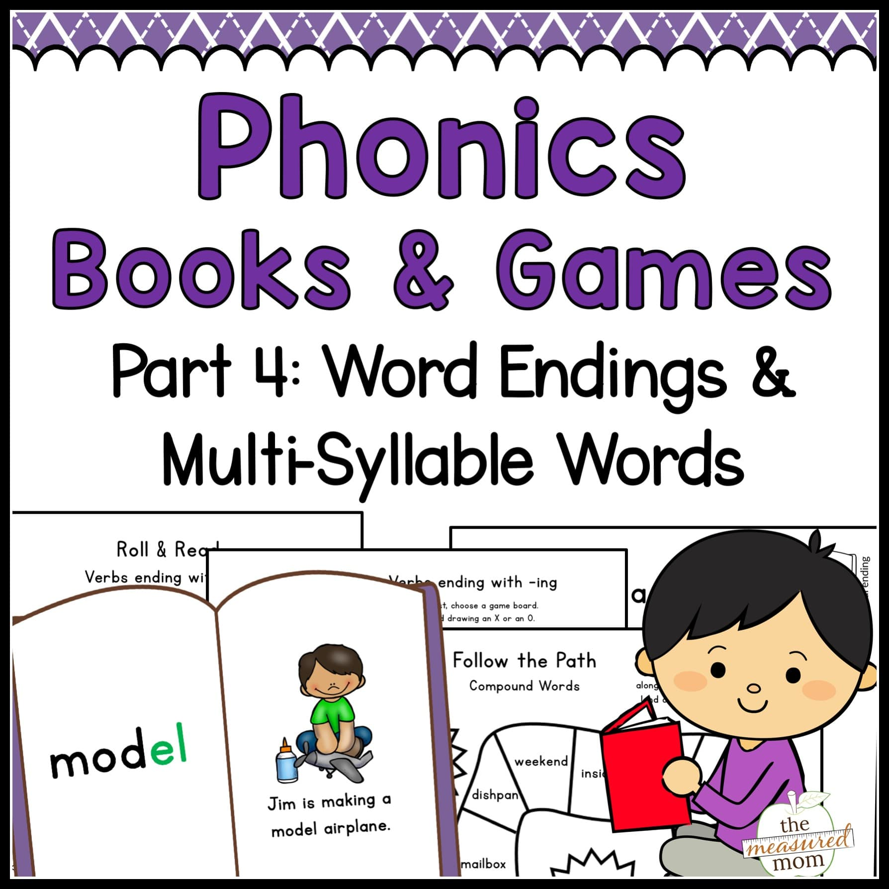 Phonics Books Amp Games Word Endings Amp Multi Syllable Words