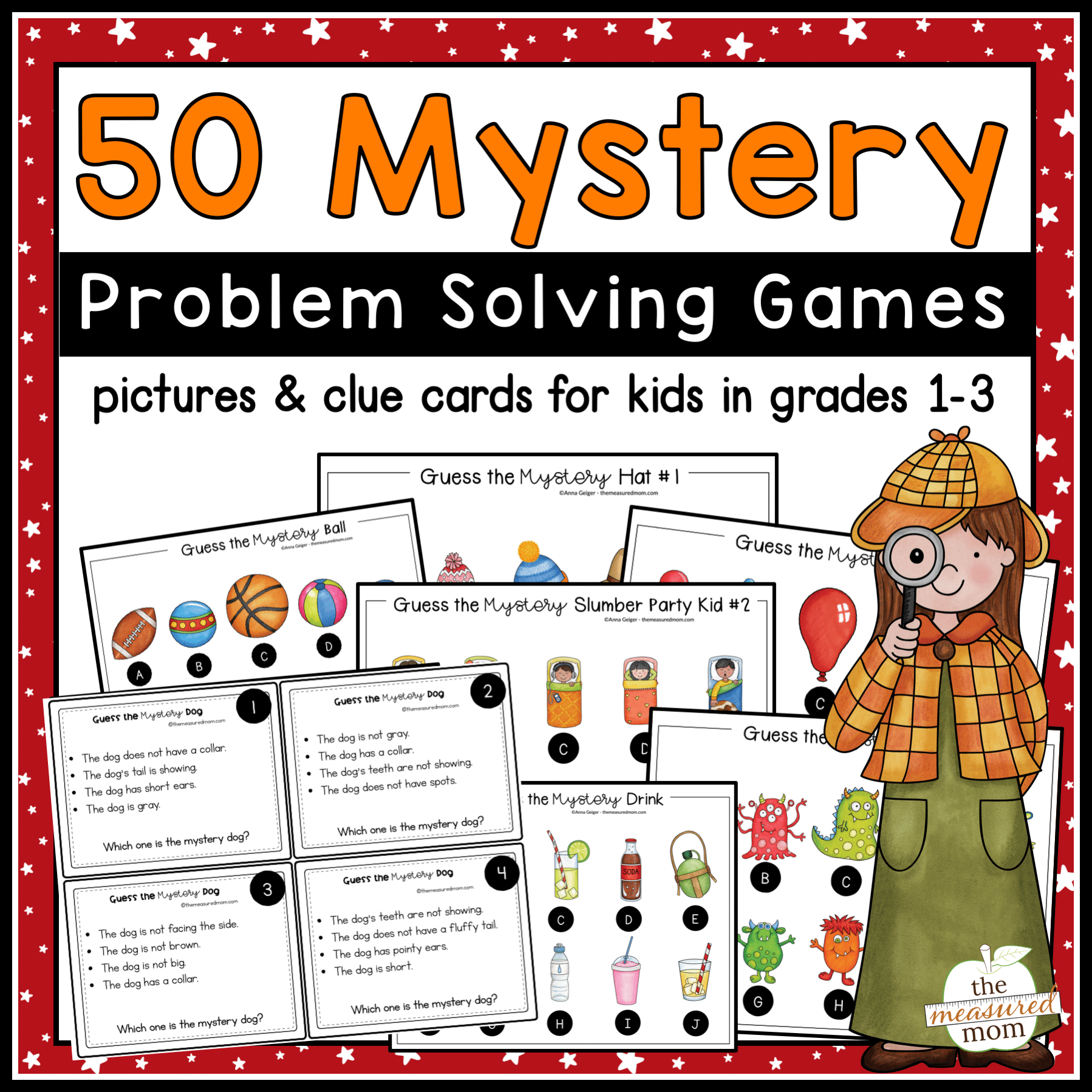 Mystery Problem Solving Activities