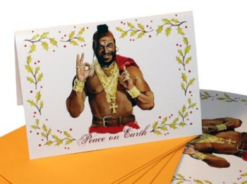Spread Cheer With Mr T Holiday Cards The Escapist