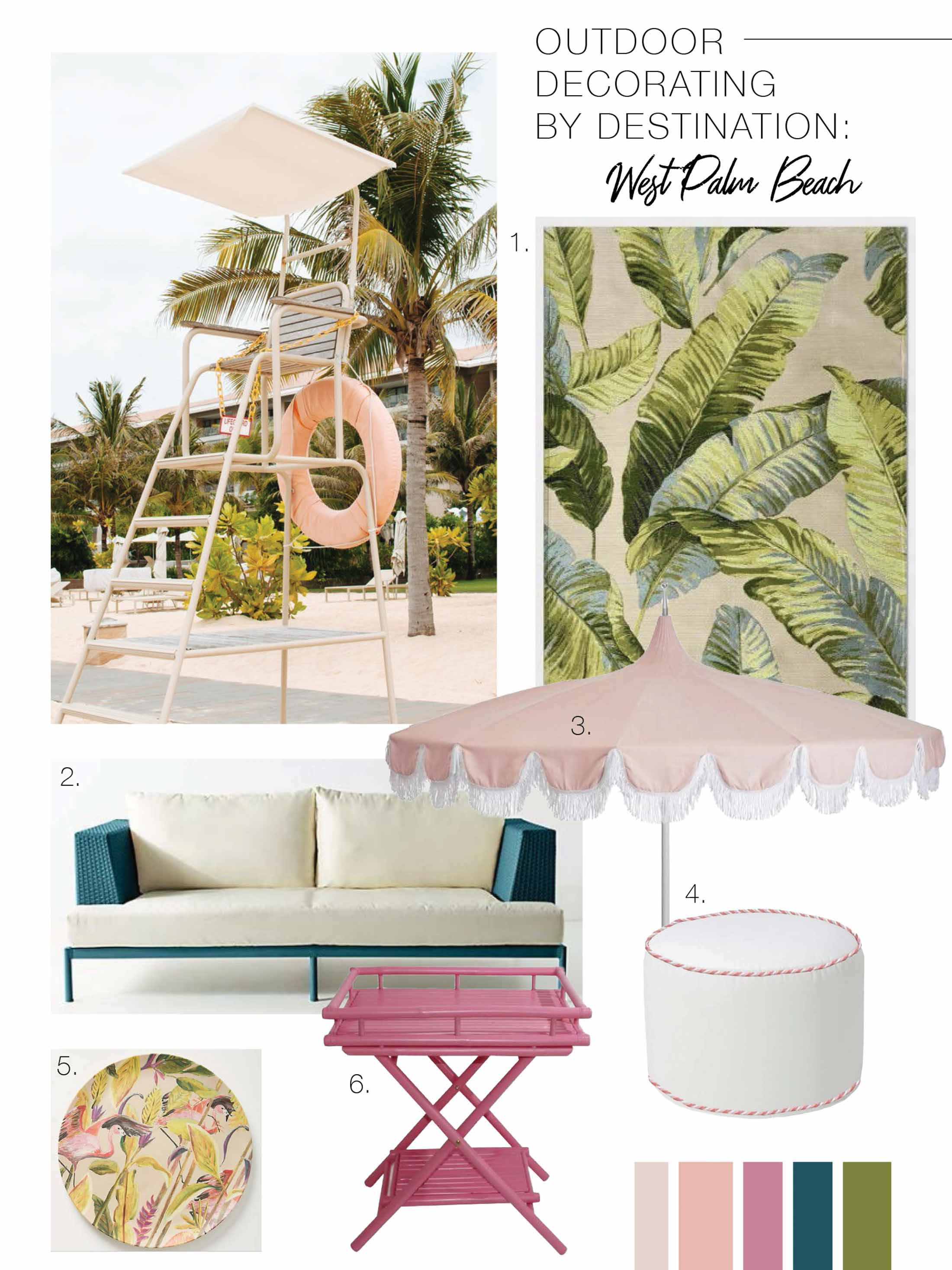 vacation inspired patio style outdoor