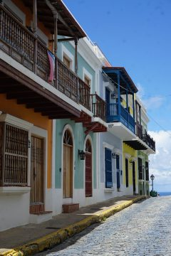 A photo of Old San Juan in Puerto Rico.