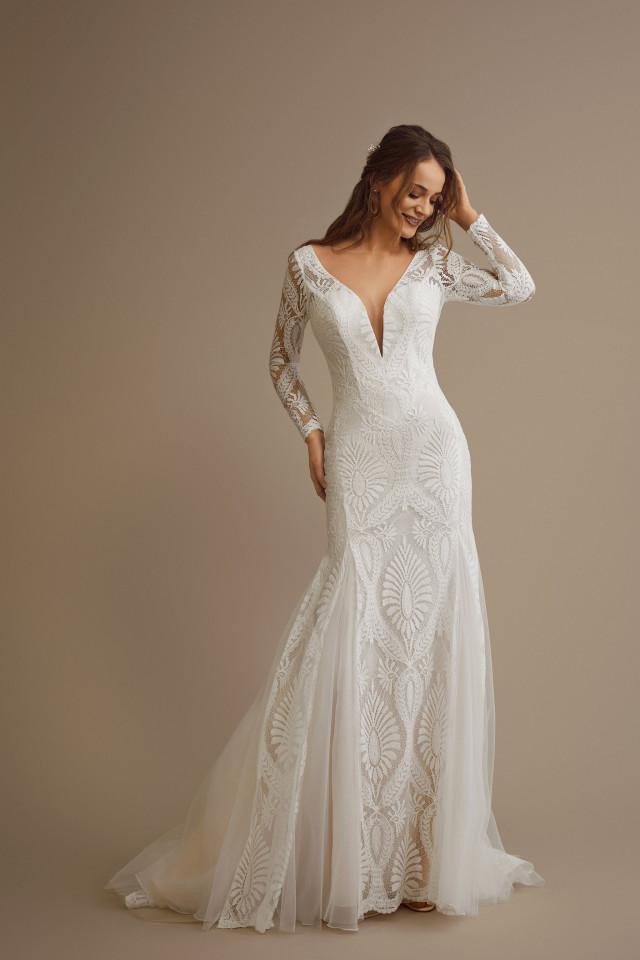 Lange Brautkleider Finde Dein Besonderes Kussdiebraut Traumkleid