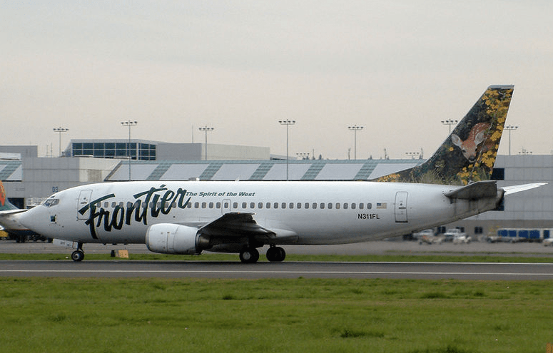 Frontier Airlines Planes A319
