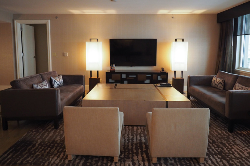 Great The large living room area