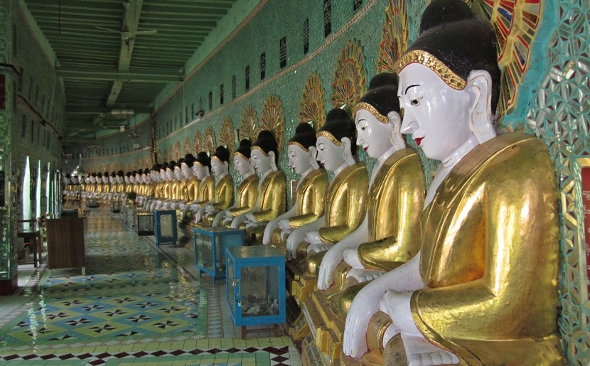 Get your fill of Buddha in Mandalay at the Sagaing Hill temples.