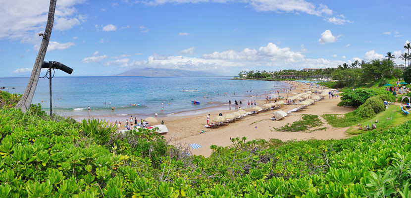Picture yourself soaking up the Hawaiian sun at the Four Seasons Maui Resort.