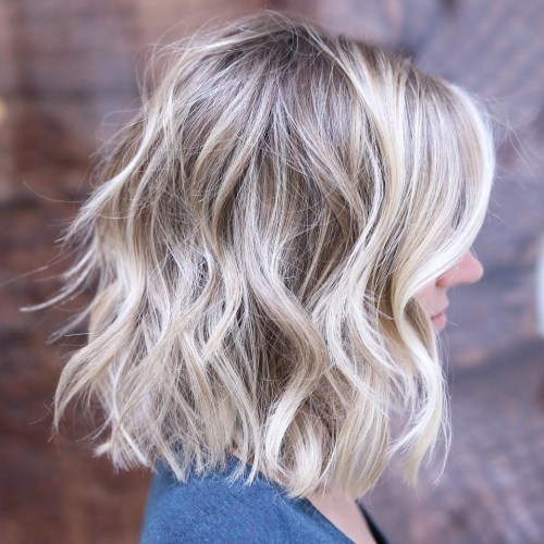 Bright Blonde With Beachy Waves