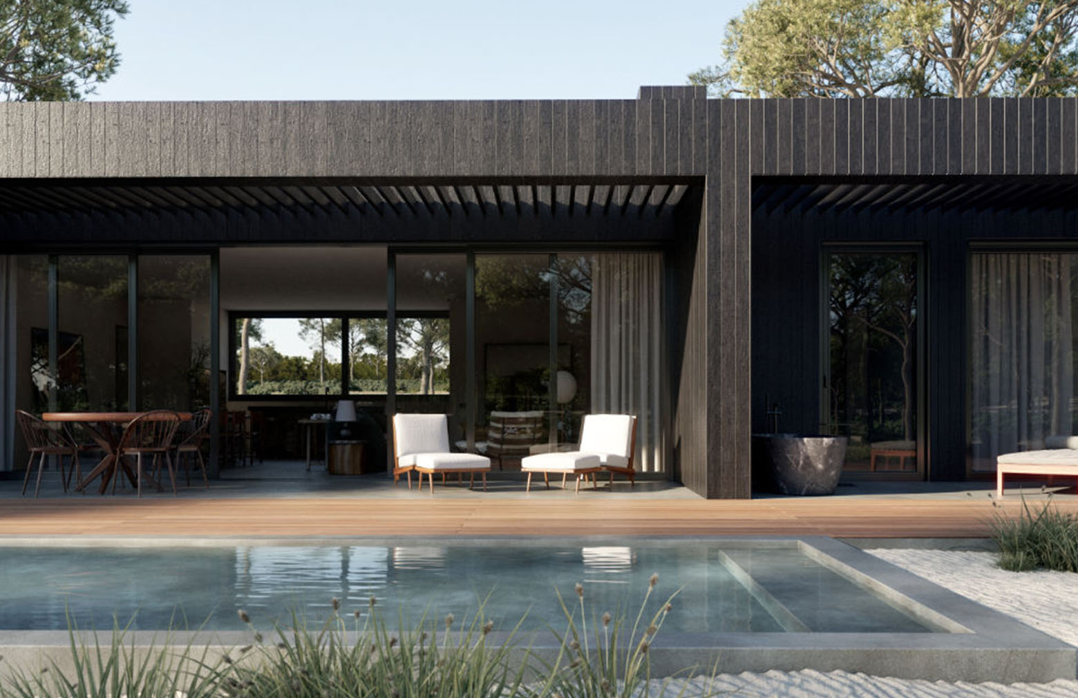 the best modern holiday homes to rent
