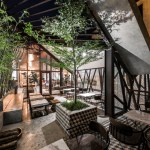 Le House Designs A Secret Garden Cafe In Hanoi