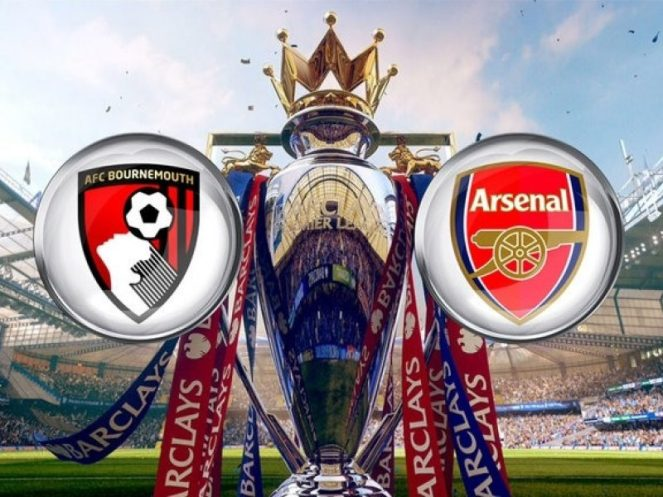 Image result for afc bournemouth vs arsenal