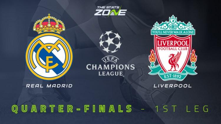 2020-21 UEFA Champions League - Real Madrid vs Liverpool ...