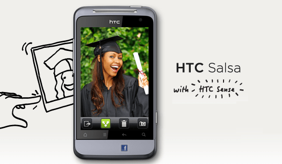 How to Install stock rom in the HTC Salsa