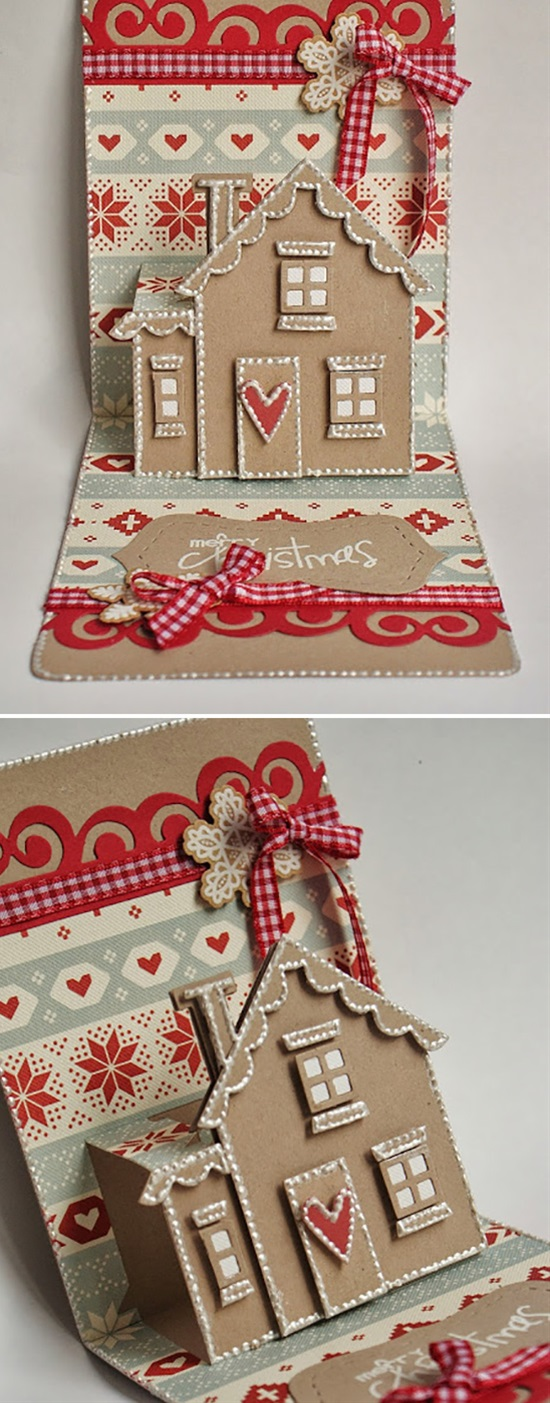 Pop Up Christmas Cards To Make Easy Video Tutorial