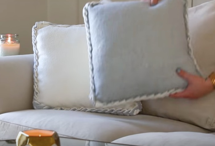 easy no sew cushions covers video