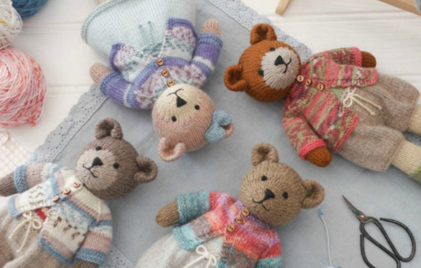 Knitted Teddy Bear Patterns You Ll Love