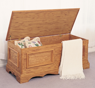 Blanket Chest Woodworking Plans