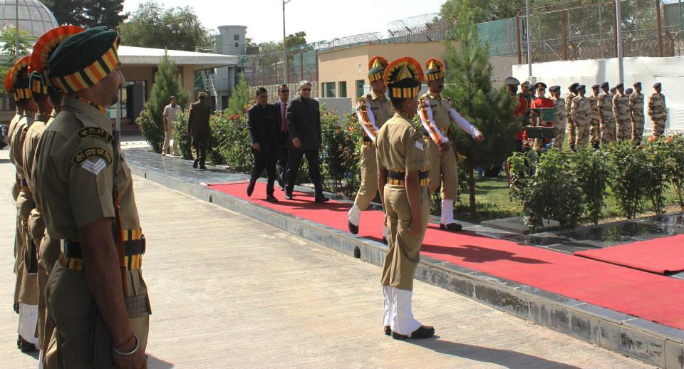 The Indian embassy in Kabul. Credit: India in Afghanistan (Embassy of India, Kabul)/Facebook