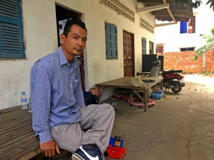 """Chhean was four years old when he moved to the U.S. His impoverished and traumatised parents ended up in the margins of society. """"Life was hard. We were a minority in a minority."""" Credit: IPS"""