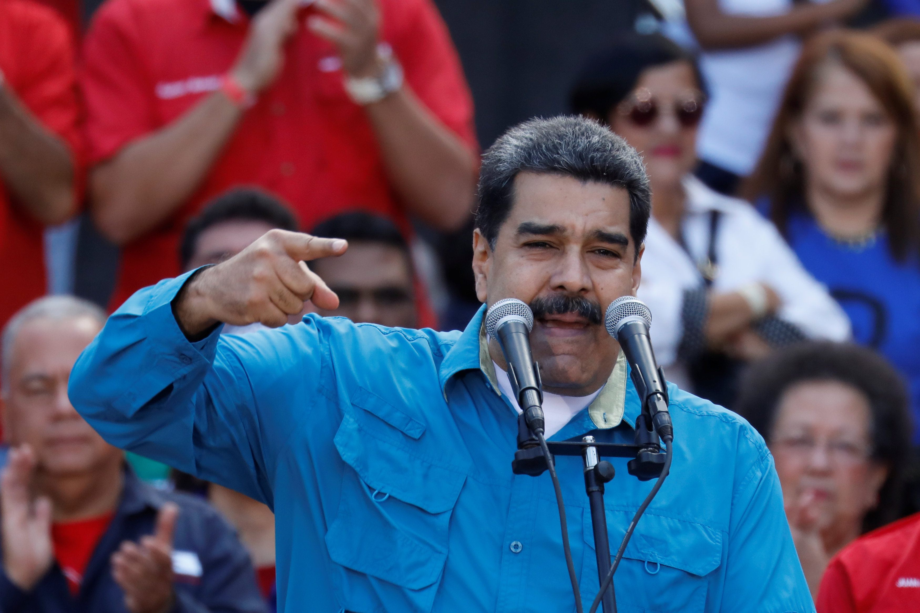 Maduro condemned for snap election against jailed opponents